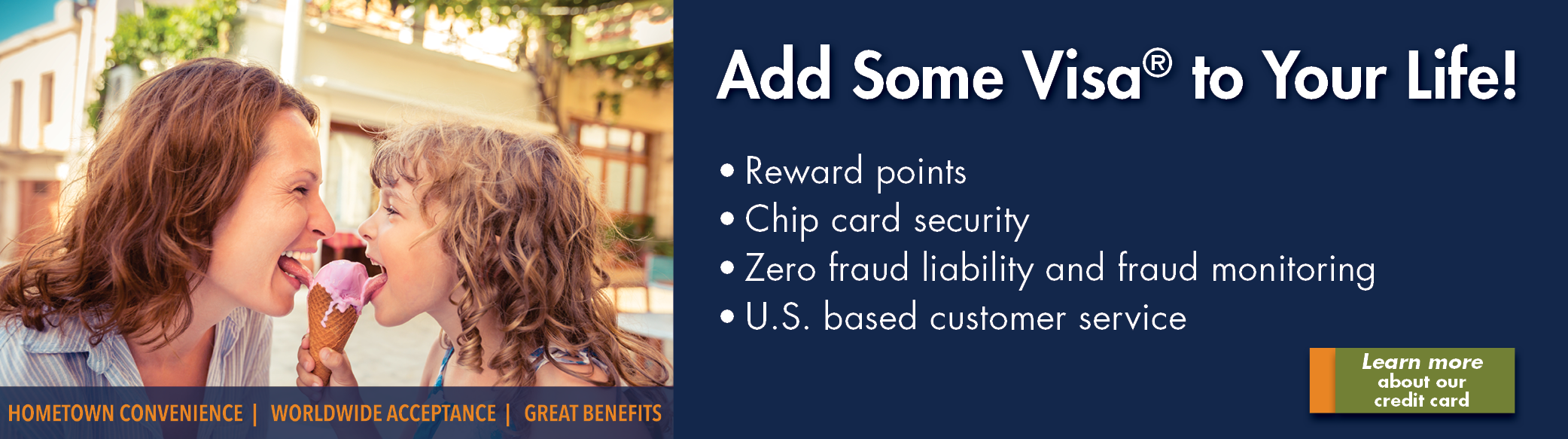 Add Some Visa® to Your Life